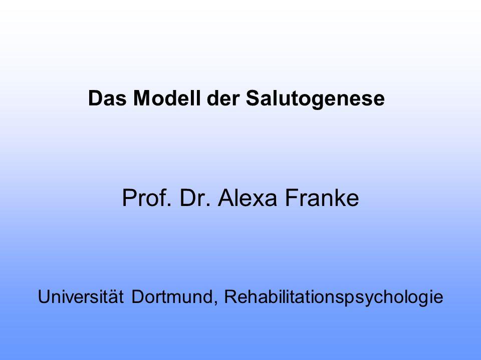 Das Modell der Salutogenese