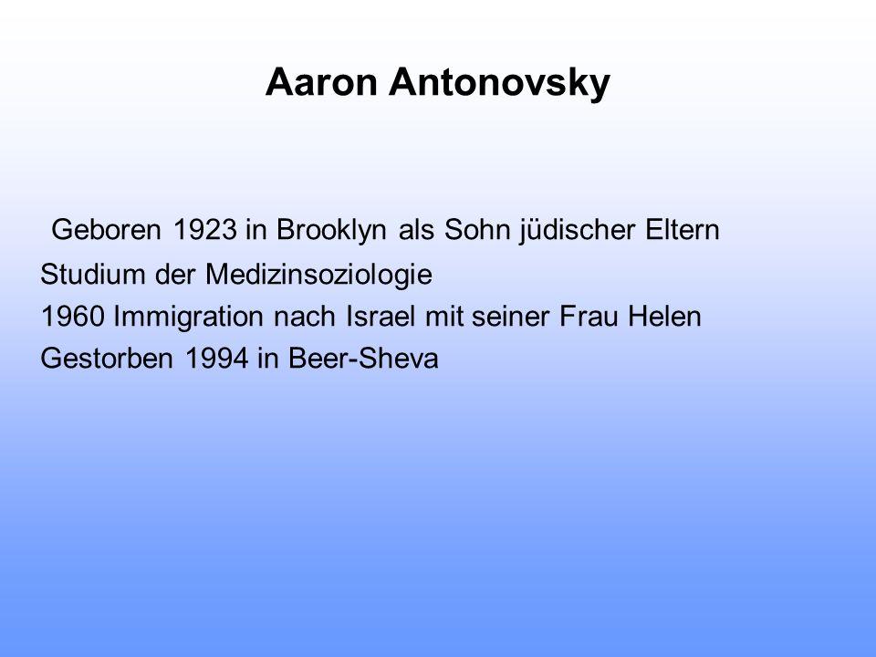 Geboren 1923 in Brooklyn als Sohn jüdischer Eltern