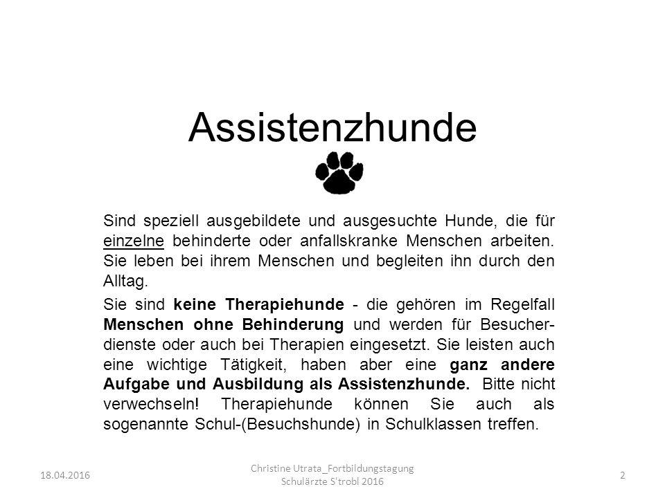 Christine Utrata_Fortbildungstagung Schulärzte S trobl 2016