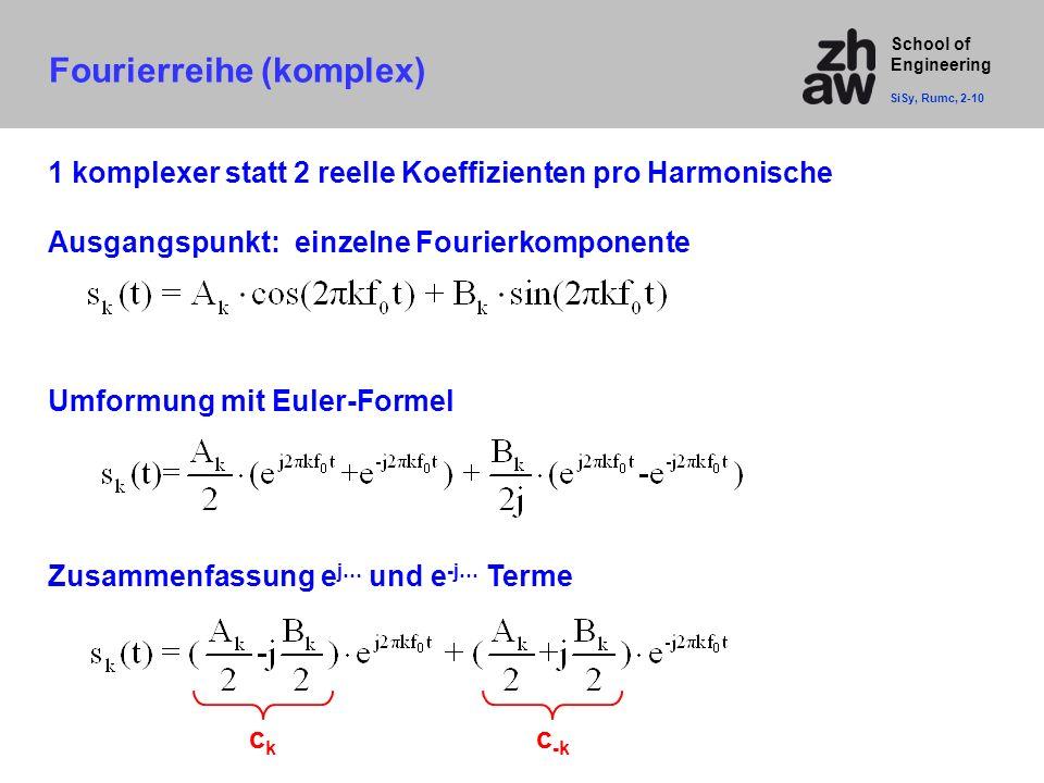Fourierreihe (komplex)