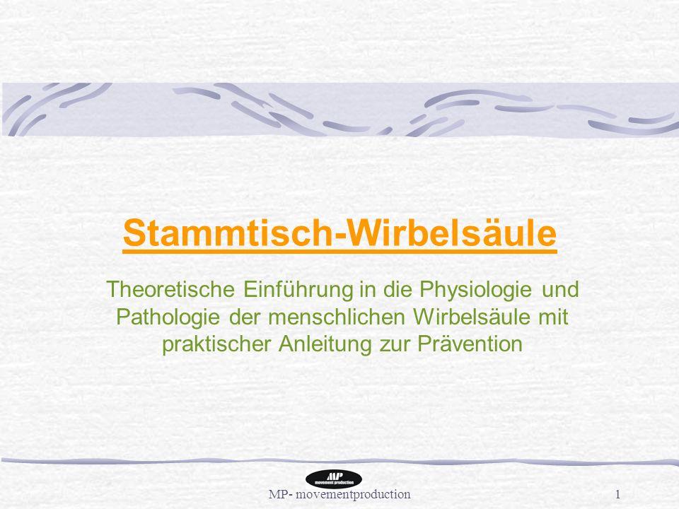 Stammtisch-Wirbelsäule