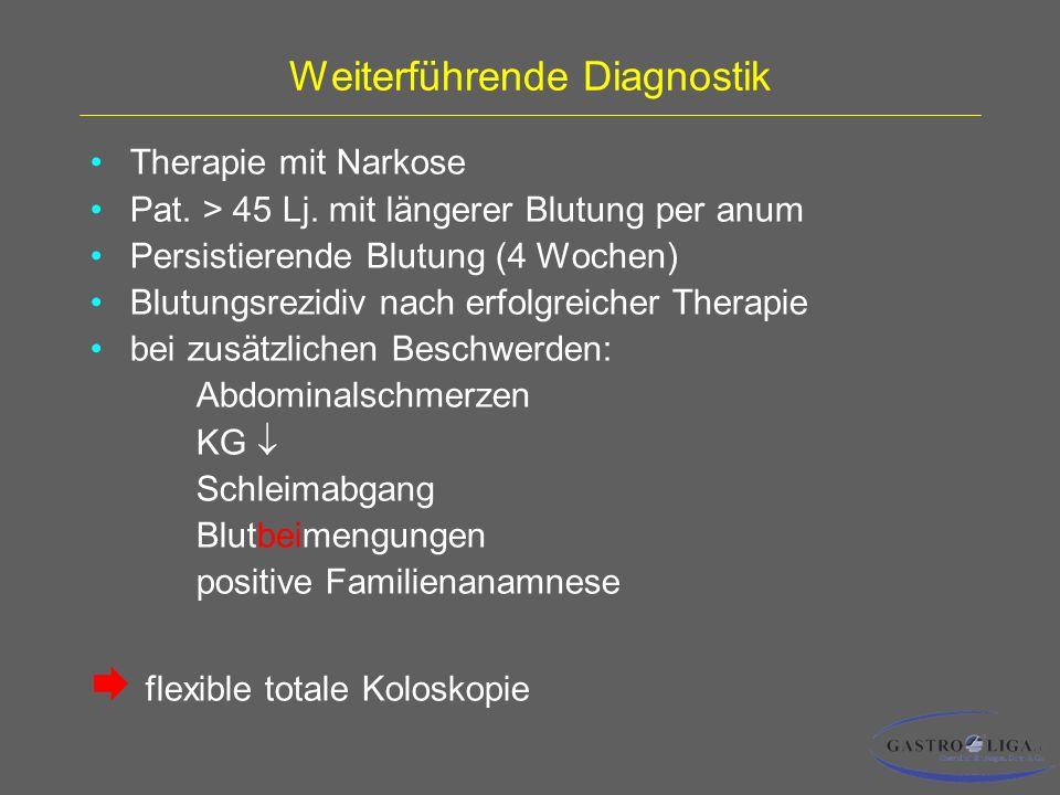 Weiterführende Diagnostik