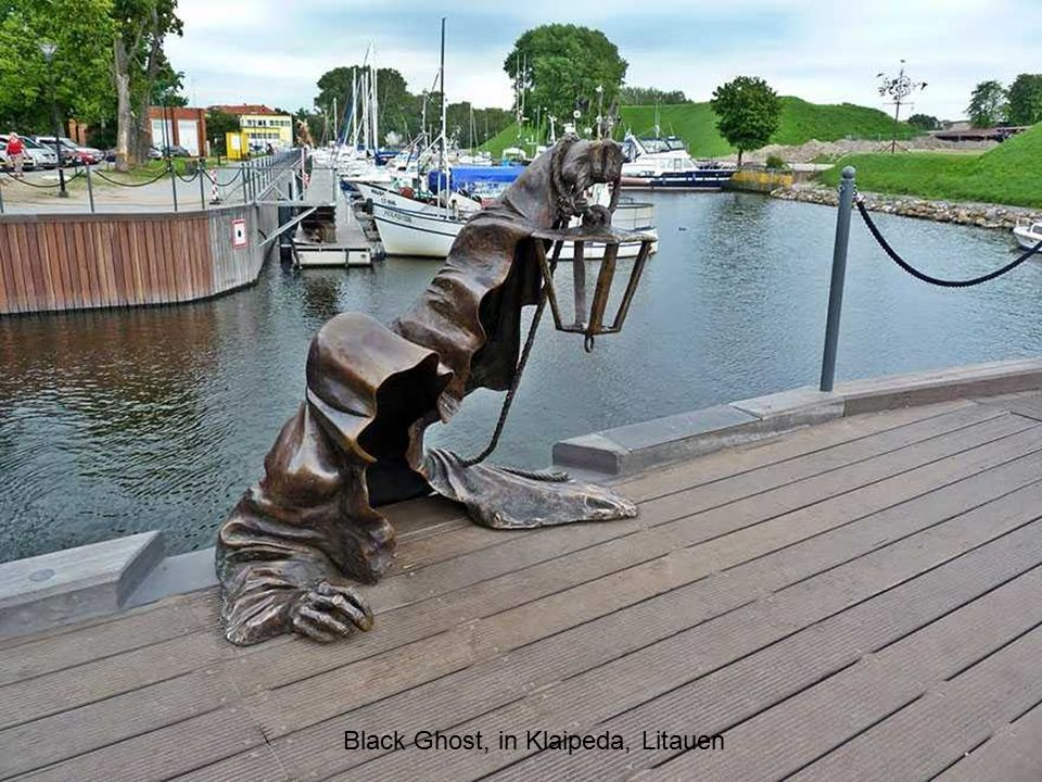 Black Ghost, in Klaipeda, Litauen