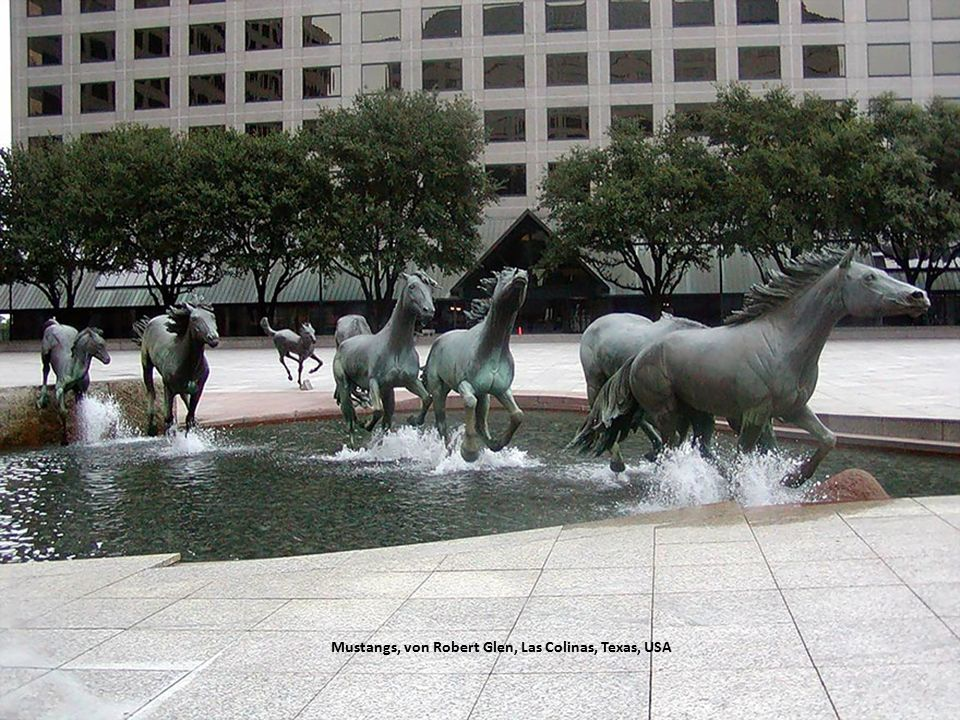 Mustangs, von Robert Glen, Las Colinas, Texas, USA