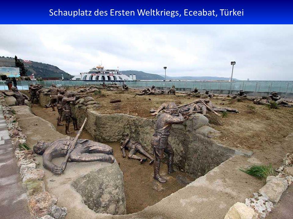 Schauplatz des Ersten Weltkriegs, Eceabat, Türkei