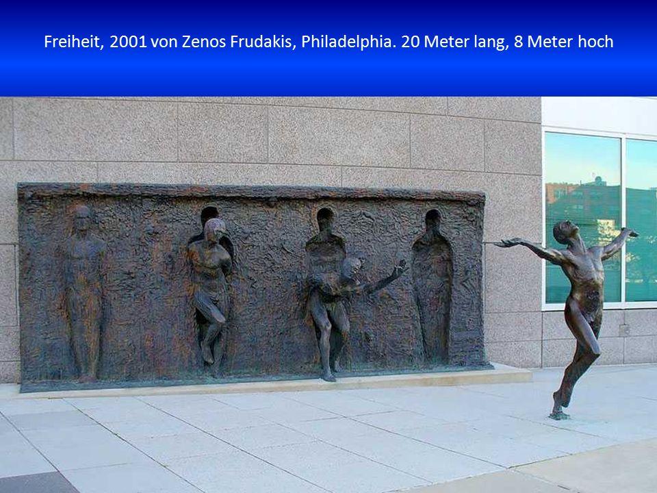 Freiheit, 2001 von Zenos Frudakis, Philadelphia
