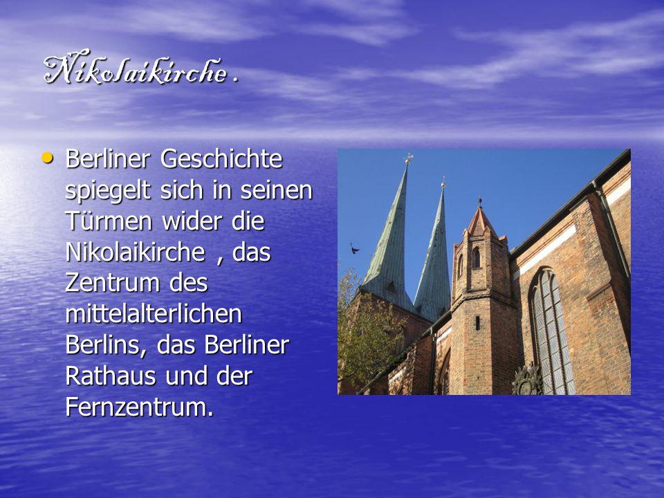 Nikolaikirche .