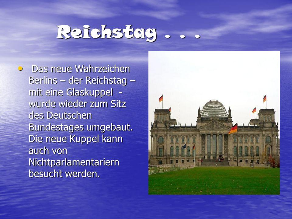Reichstag . . .