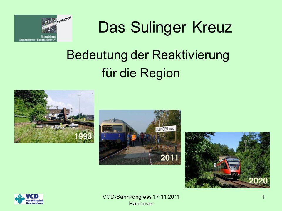 Das Sulinger Kreuz Bedeutung der Reaktivierung für die Region