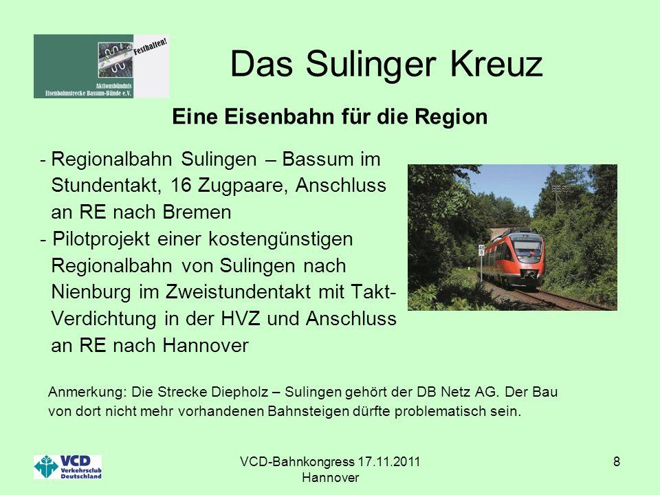 Eine Eisenbahn für die Region