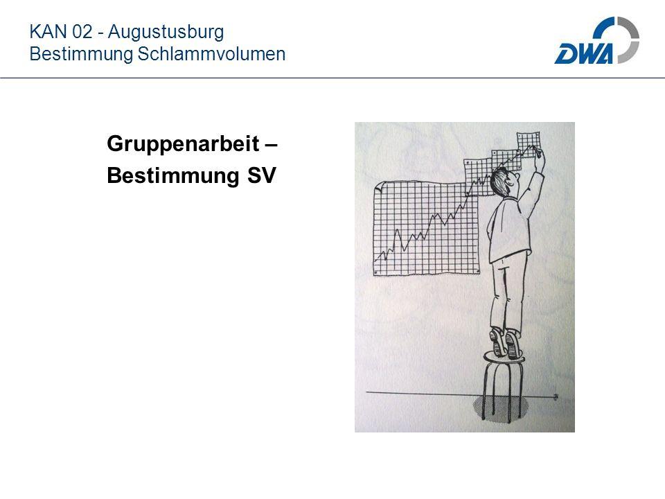 Gruppenarbeit – Bestimmung SV KAN 02 - Augustusburg