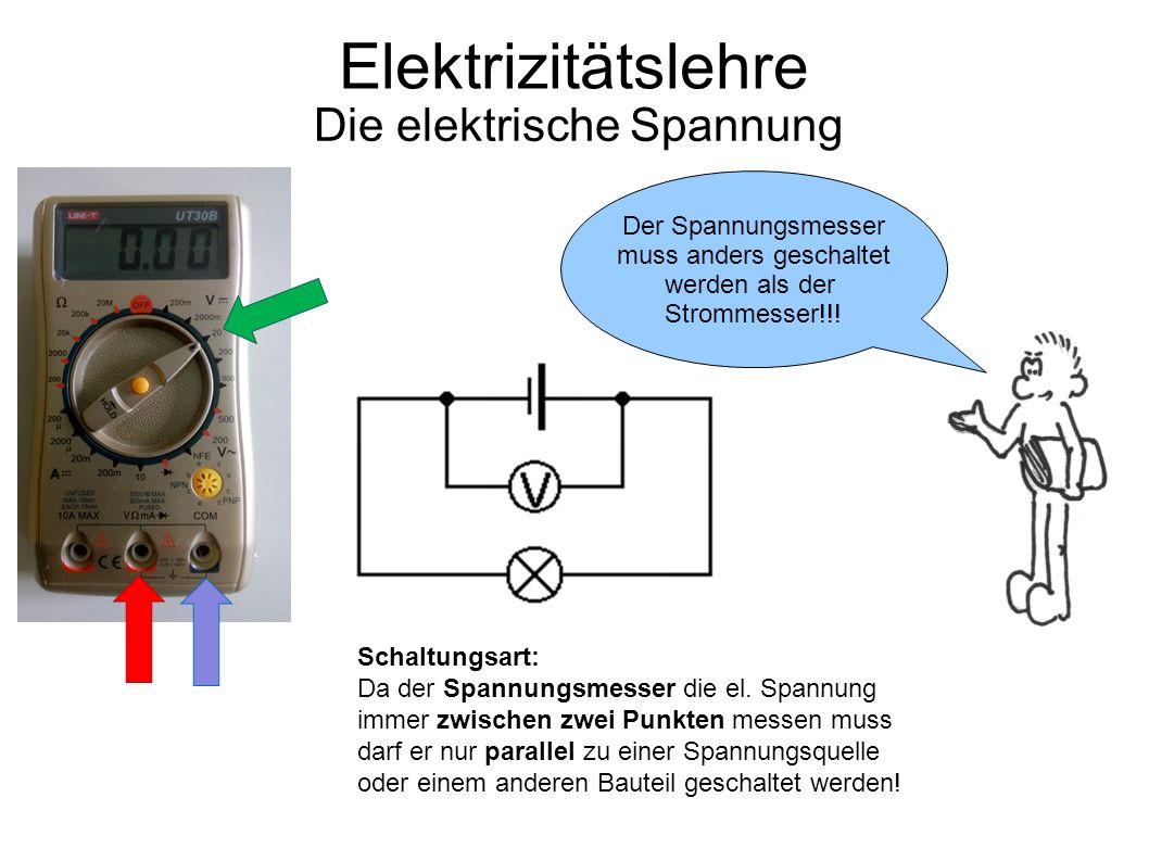 Die elektrische Spannung