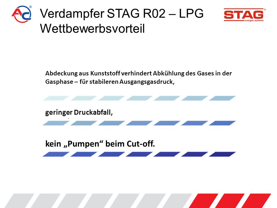Verdampfer STAG R02 – LPG Wettbewerbsvorteil