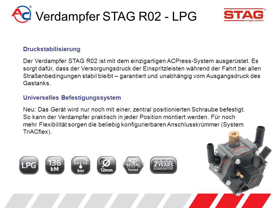 Verdampfer STAG R02 - LPG Druckstabilisierung