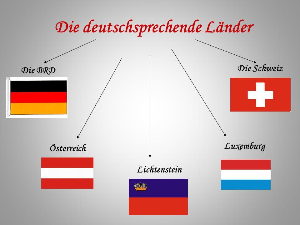 Die deutschsprechende Länder