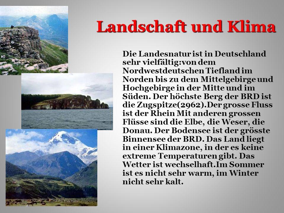 Landschaft und Klima