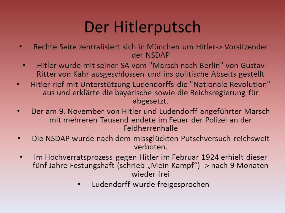 Ludendorff wurde freigesprochen