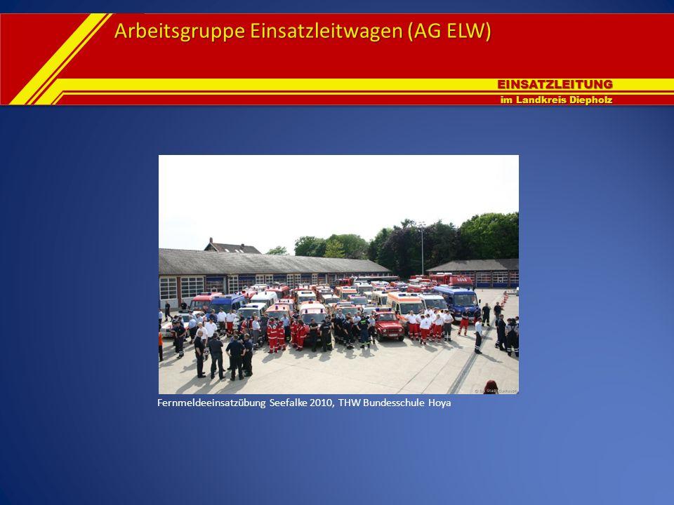 Fernmeldeeinsatzübung Seefalke 2010, THW Bundesschule Hoya