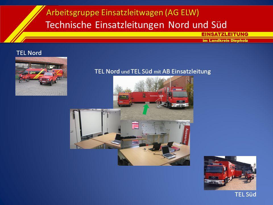 Technische Einsatzleitungen Nord und Süd