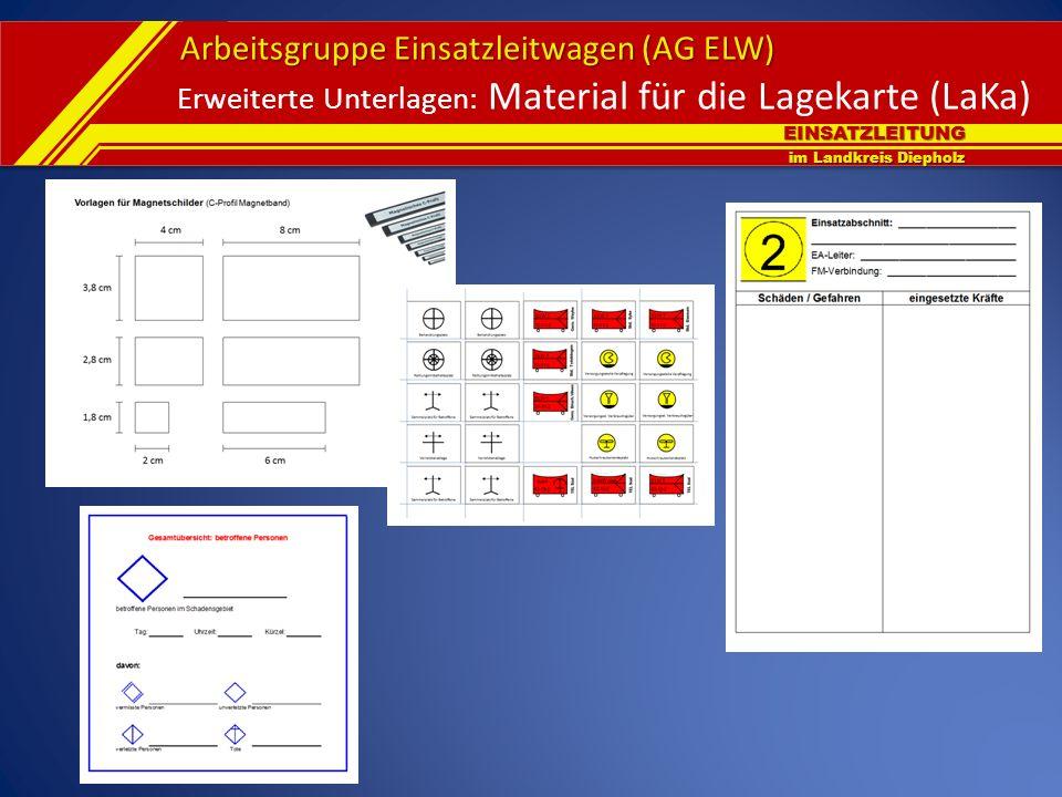 Erweiterte Unterlagen: Material für die Lagekarte (LaKa)
