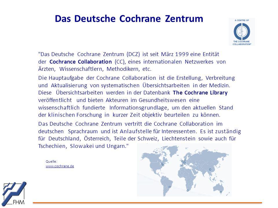 Das Deutsche Cochrane Zentrum