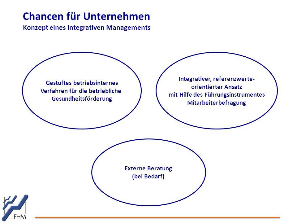 Chancen für Unternehmen Konzept eines integrativen Managements