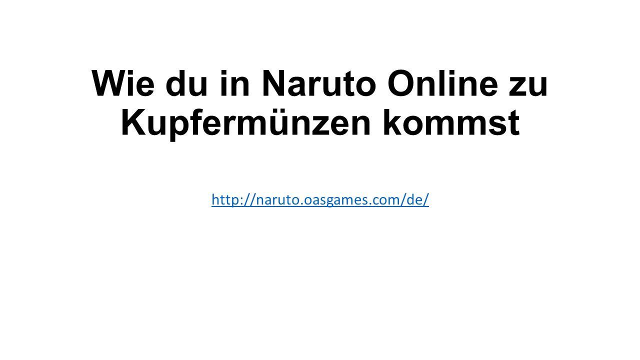 Wie du in Naruto Online zu Kupfermünzen kommst