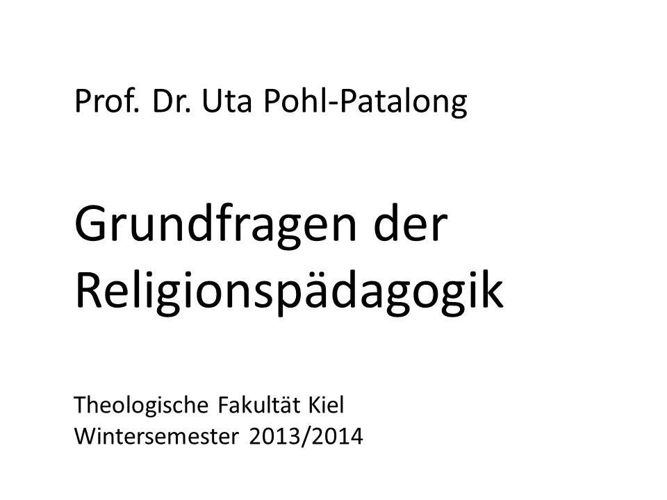 Grundfragen der Religionspädagogik