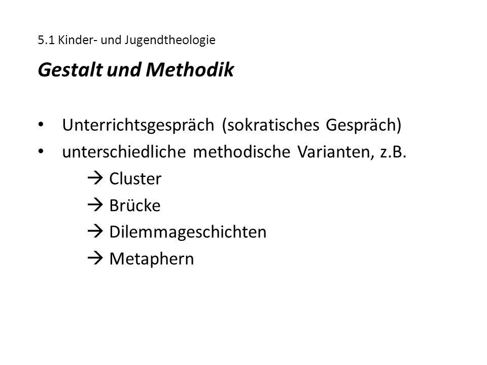 Gestalt und Methodik Unterrichtsgespräch (sokratisches Gespräch)