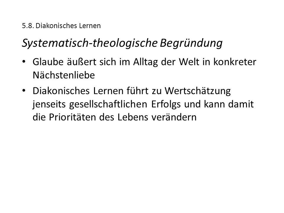 Systematisch-theologische Begründung