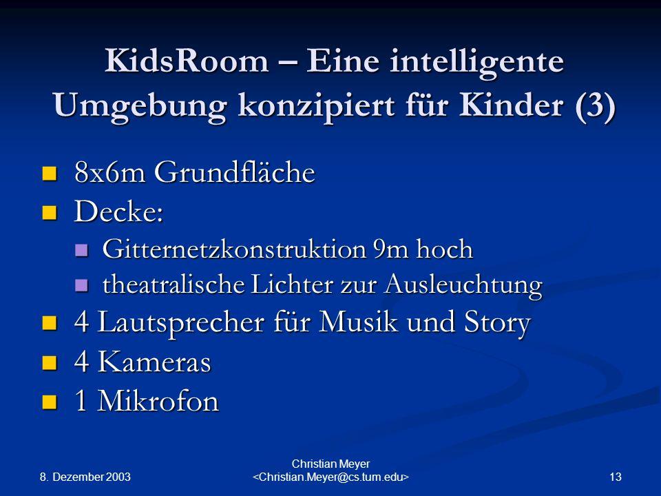 KidsRoom – Eine intelligente Umgebung konzipiert für Kinder (3)