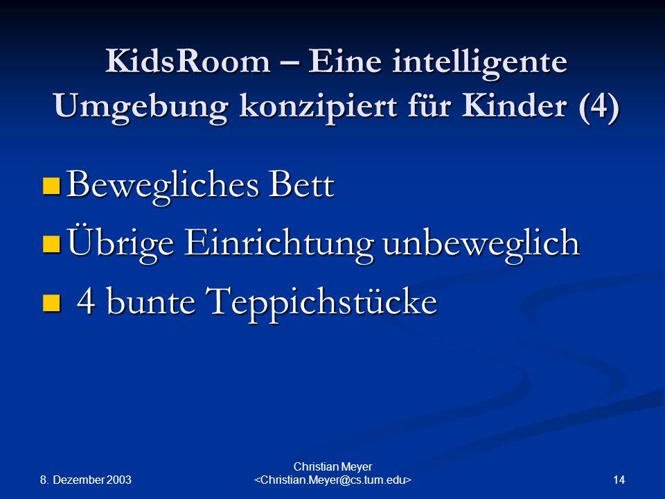 KidsRoom – Eine intelligente Umgebung konzipiert für Kinder (4)