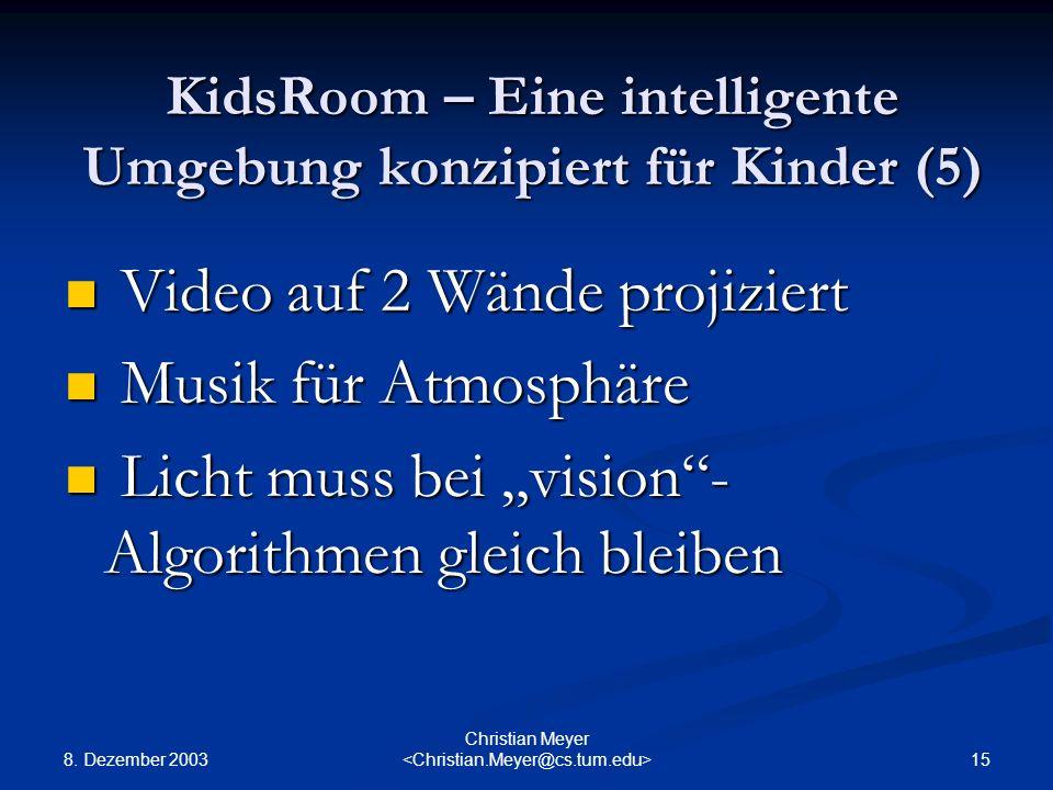 KidsRoom – Eine intelligente Umgebung konzipiert für Kinder (5)