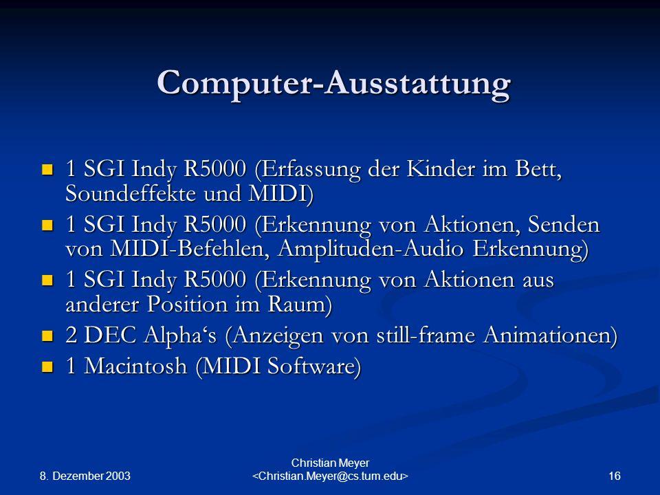 Computer-Ausstattung