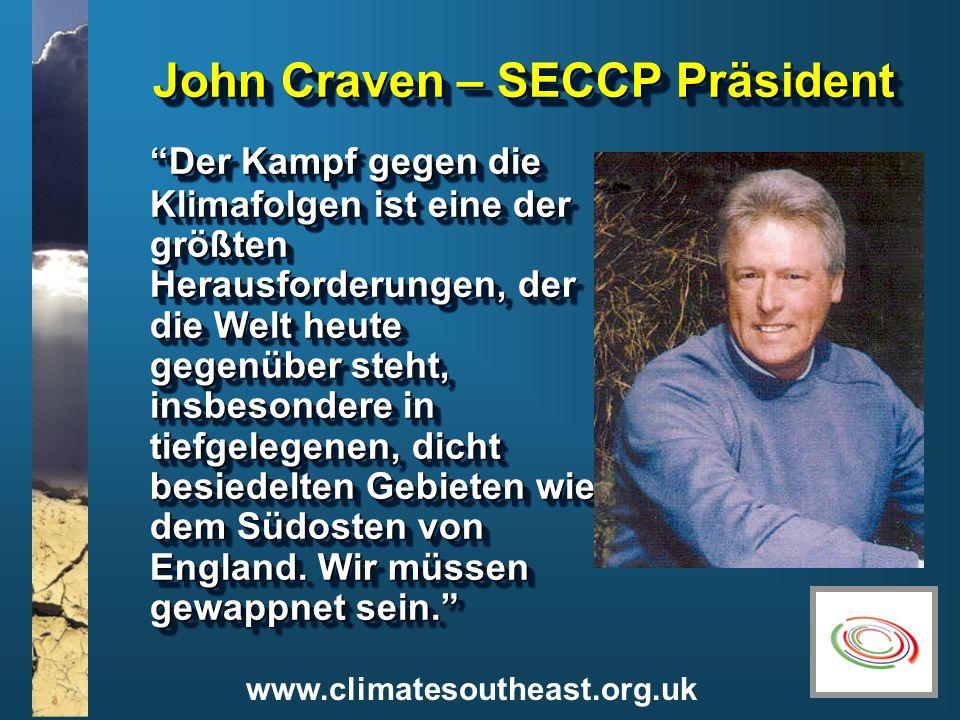 John Craven – SECCP Präsident