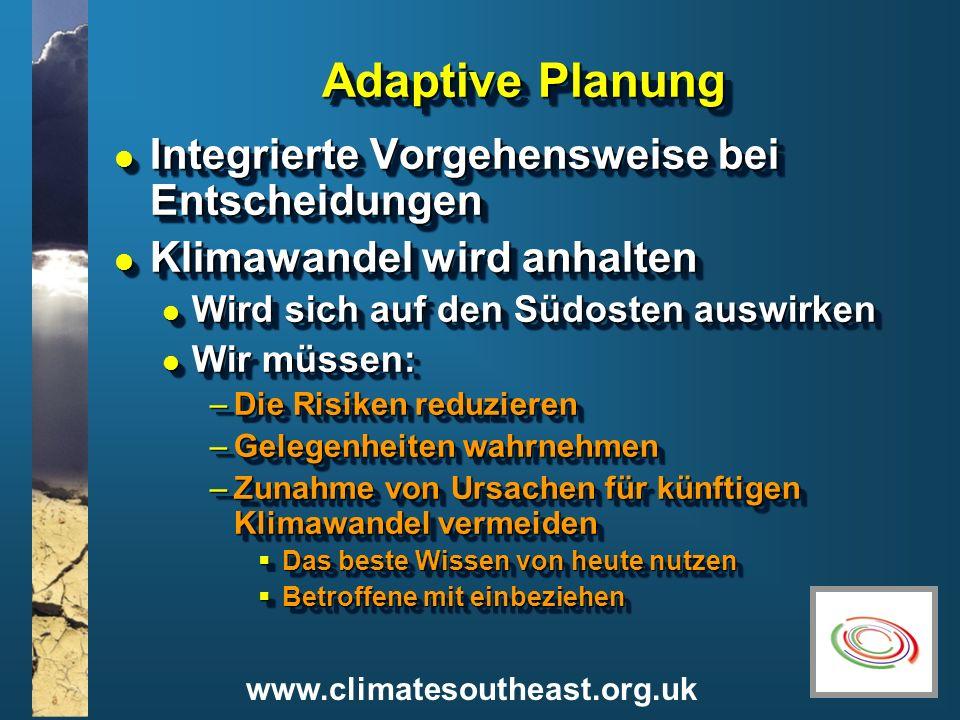 Adaptive Planung Integrierte Vorgehensweise bei Entscheidungen