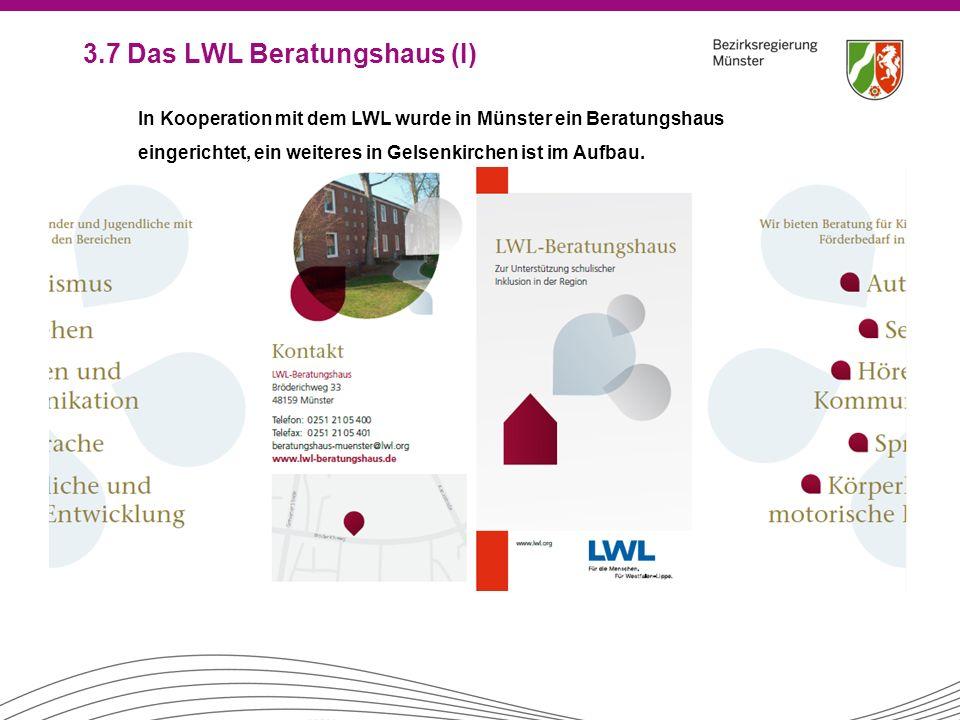 3.7 Das LWL Beratungshaus (I)