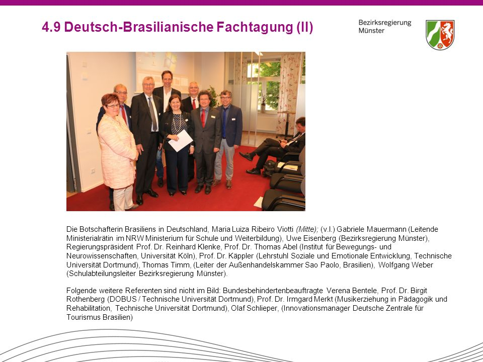 4.9 Deutsch-Brasilianische Fachtagung (II)