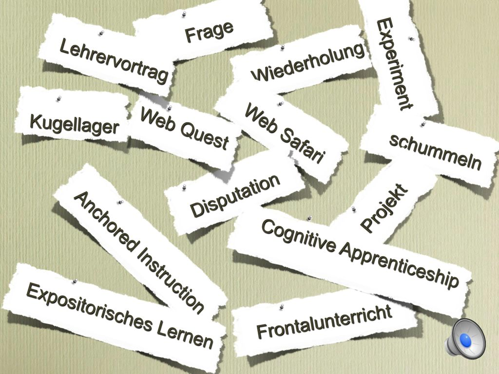 Expositorisches Lernen Cognitive Apprenticeship Web Quest