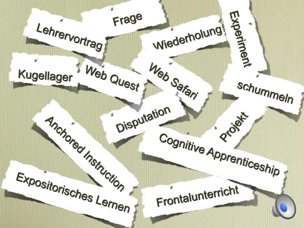 Expositorisches Lernen Cognitive Apprenticeship Web Quest