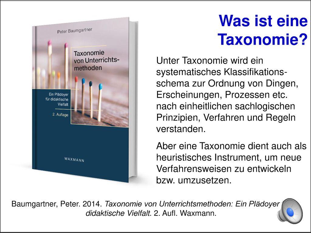 Was ist eine Taxonomie