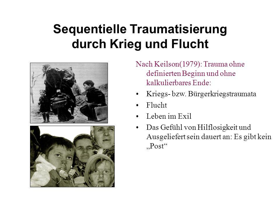 Sequentielle Traumatisierung durch Krieg und Flucht