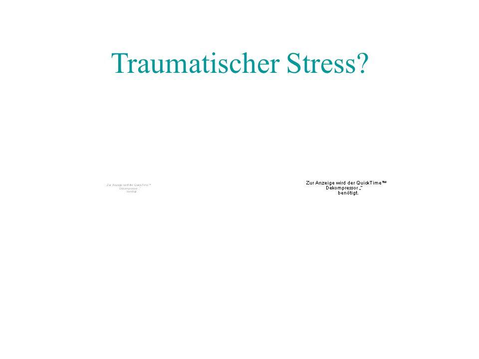 Traumatischer Stress