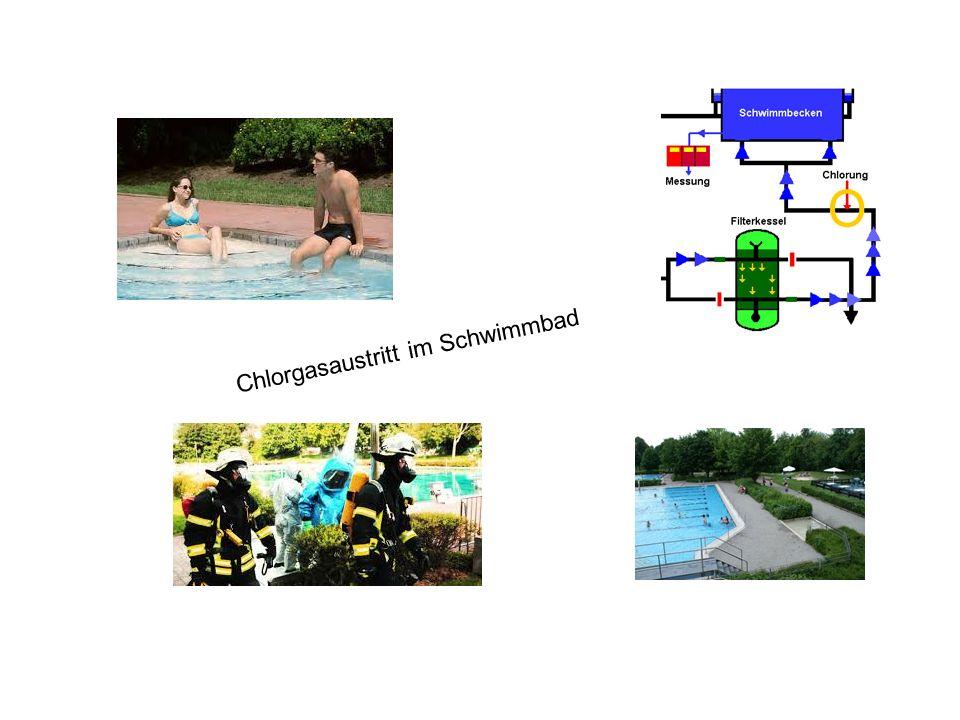 Chlorgasaustritt im Schwimmbad