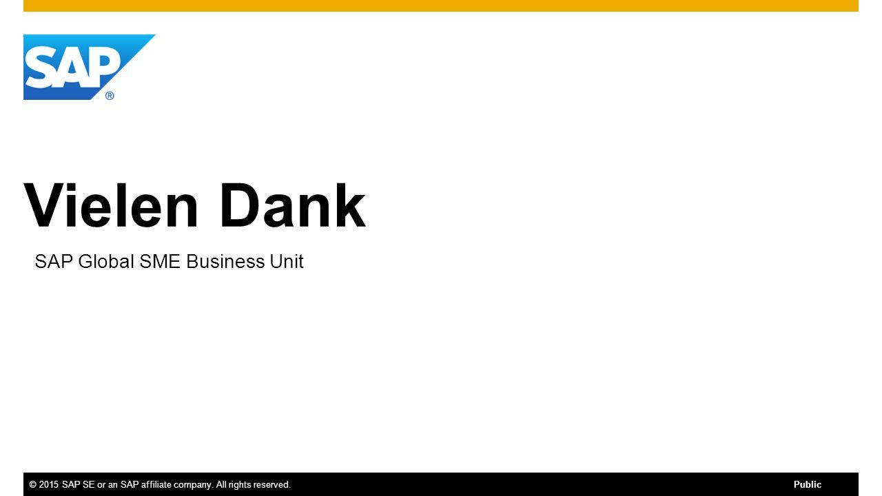 SAP Global SME Business Unit