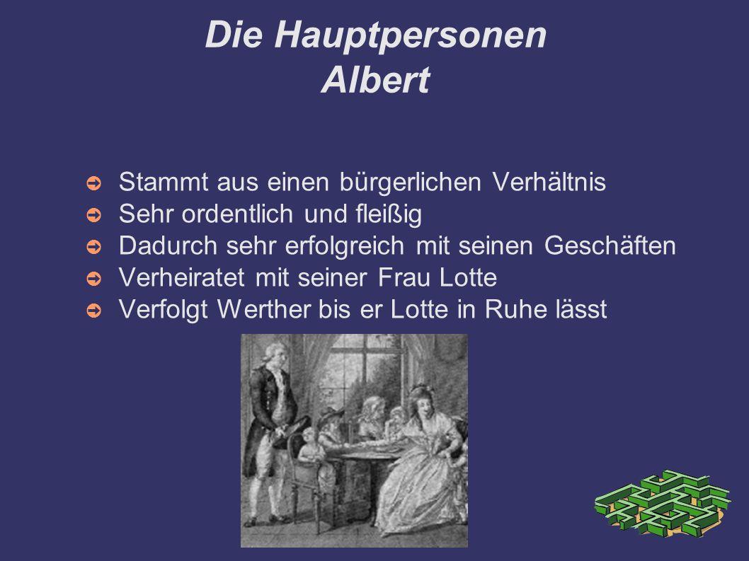 Die Hauptpersonen Albert