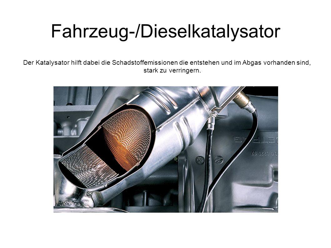 Fahrzeug-/Dieselkatalysator