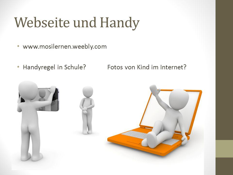 Webseite und Handy www.mosilernen.weebly.com