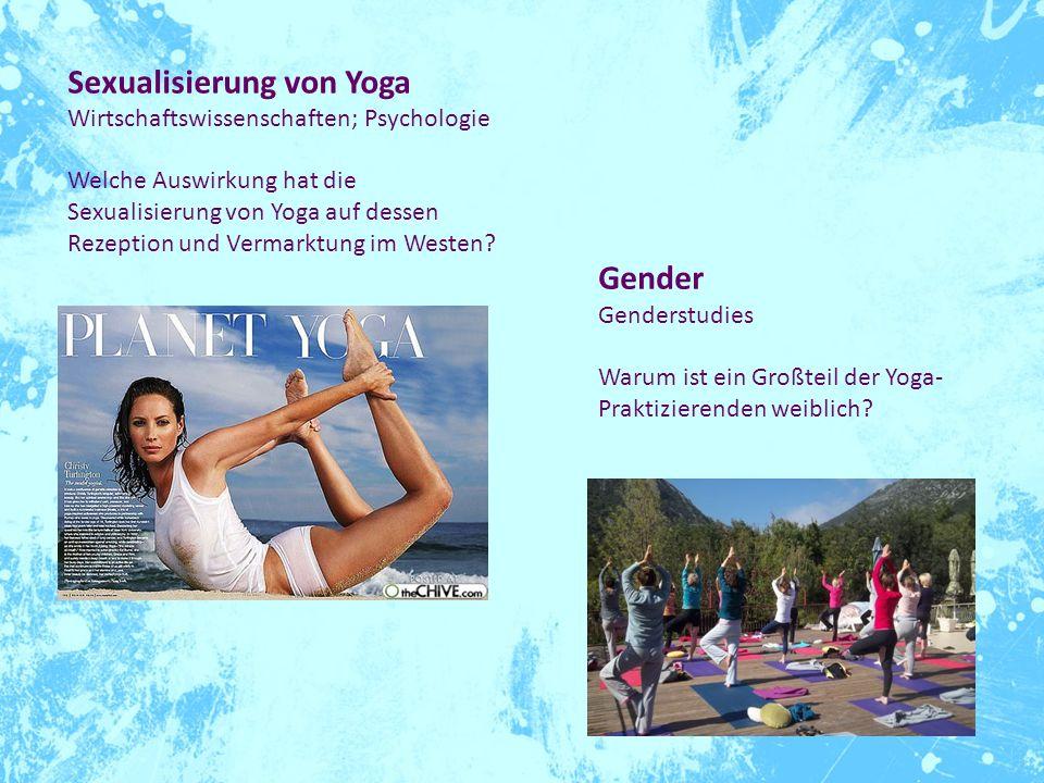 Sexualisierung von Yoga
