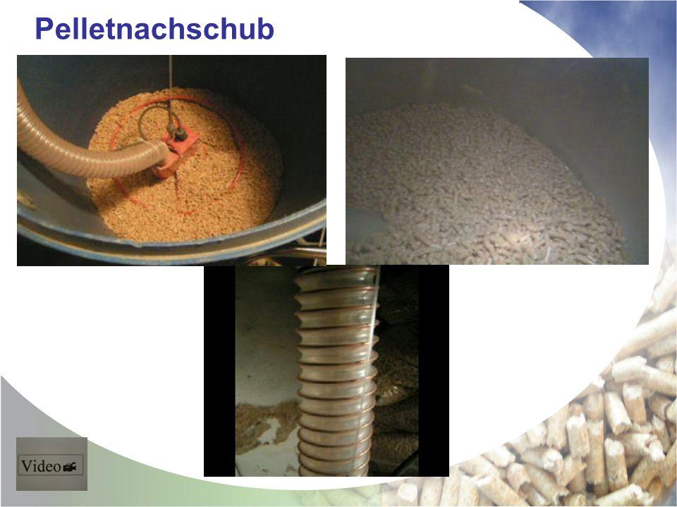 Pelletnachschub